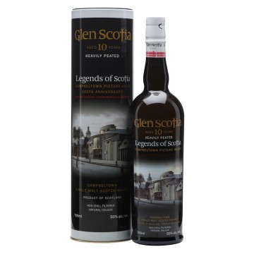 Glen Scotia Peated 10 Years Old Single Malt Scotch Whisky